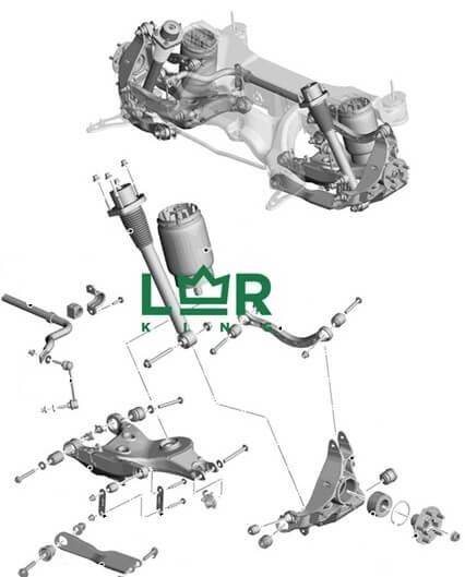 land rover range rover подвеска