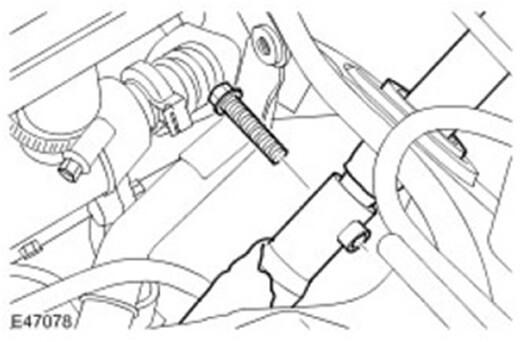 Демонтаж нижнего вала рулевой колонки