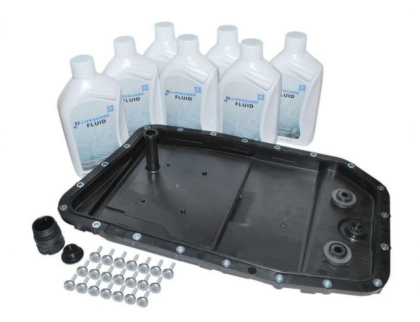 Особенности конструкции и замена масла в АКПП Range Rover Sport