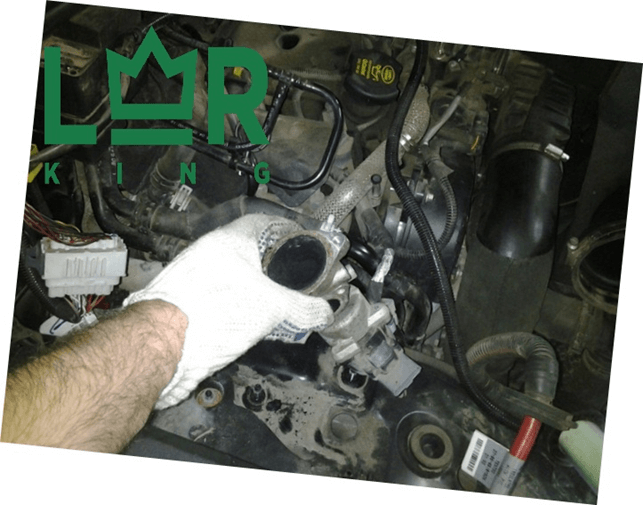 Профессиональная замена клапана EGR Дискавери 3 в LR-King