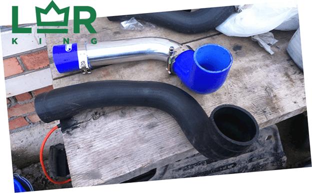 Замена патрубка интеркулера Фрилендер 2