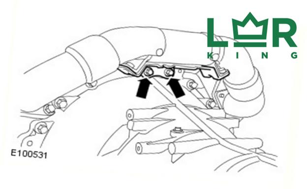 Замена перепускной трубы на дизельном двигателе Discovery 3