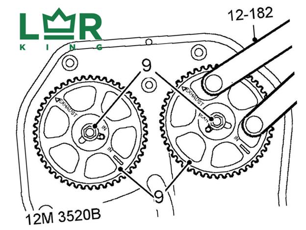 как произвести замену ГРМ на Range Rover