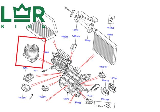 Основные неисправности и когда нужна замена радиатора печки range rover sport