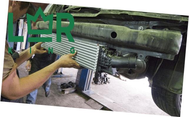 замена интеркулера freelander 2 в сертифицированном сервисе LR-King