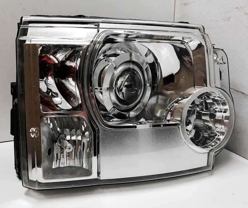 Замена ламп на Land Rover Discovery 3