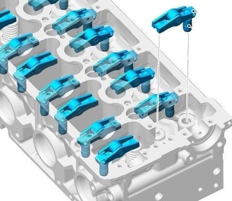 Гидрокомпенсаторы и клапанные зазоры 2.2 Freelander 2