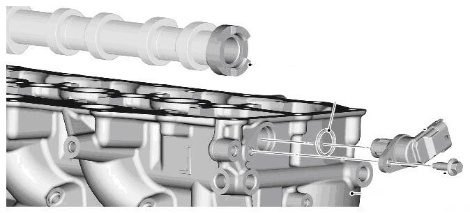Фазы газораспределения 4.4 TD Land Rover RR