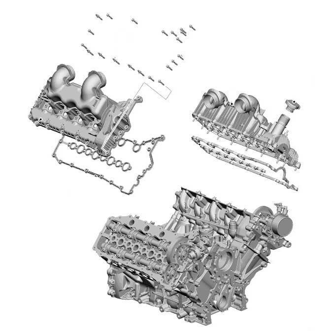 Фазы газораспределения рендж ровер спорт, ремонт