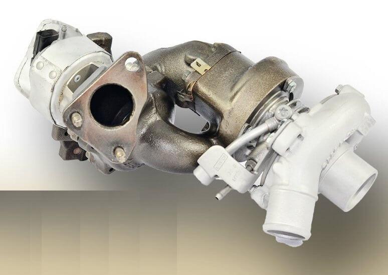 Турбокомпрессор дизельного двигателя 4.4 TD Range Rover и Range Rover Sport
