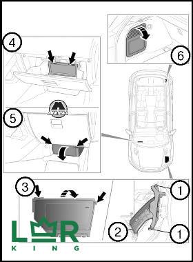 Замена предохранителей на Land Rover Evoque самостоятельно, своими силами
