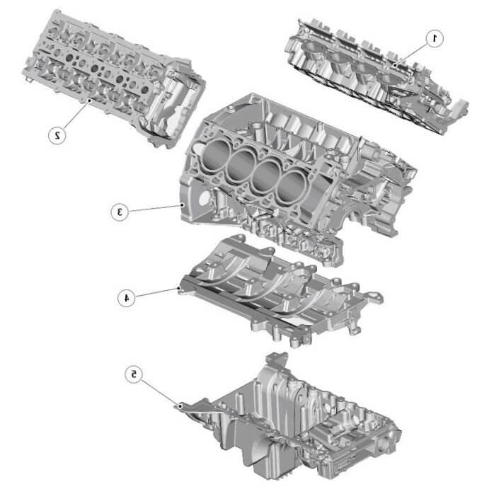 Бензиновый двигатель Рендж Ровер, его основные узлы