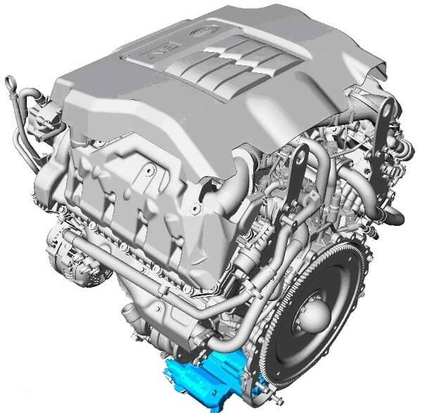 Дизель 3.6 TD Range Rover Sport
